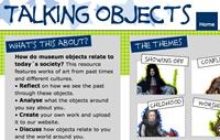 Talking Objects Educational Website