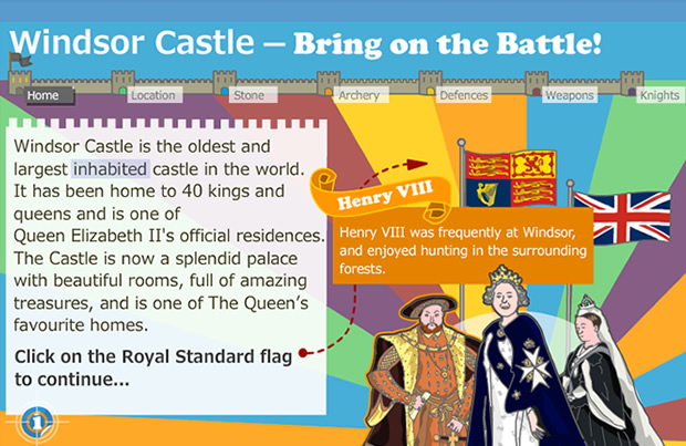 Windsor Castle – Bring on the Battle