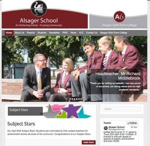 Alsager School Website