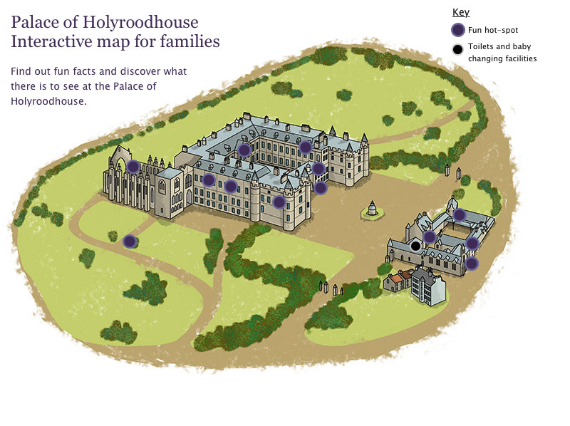 Palace of Holyroodhouse Visitor Information