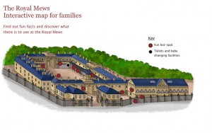 The Royal Mews Visitor Map