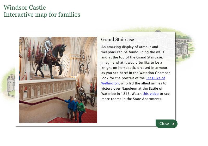 Windsor Castle Interactive Visitor Information