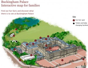 Buckingham Palace Interactive Map