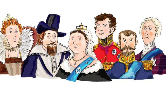 History Character Illustration