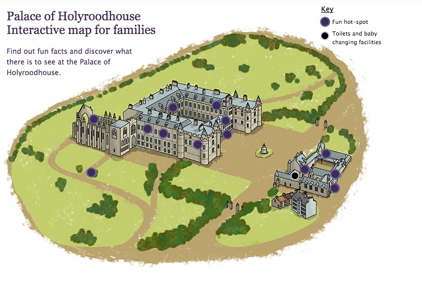Holyroodhouse Map