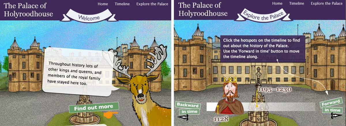 The Palace of Holyroodhouse Learning Journey