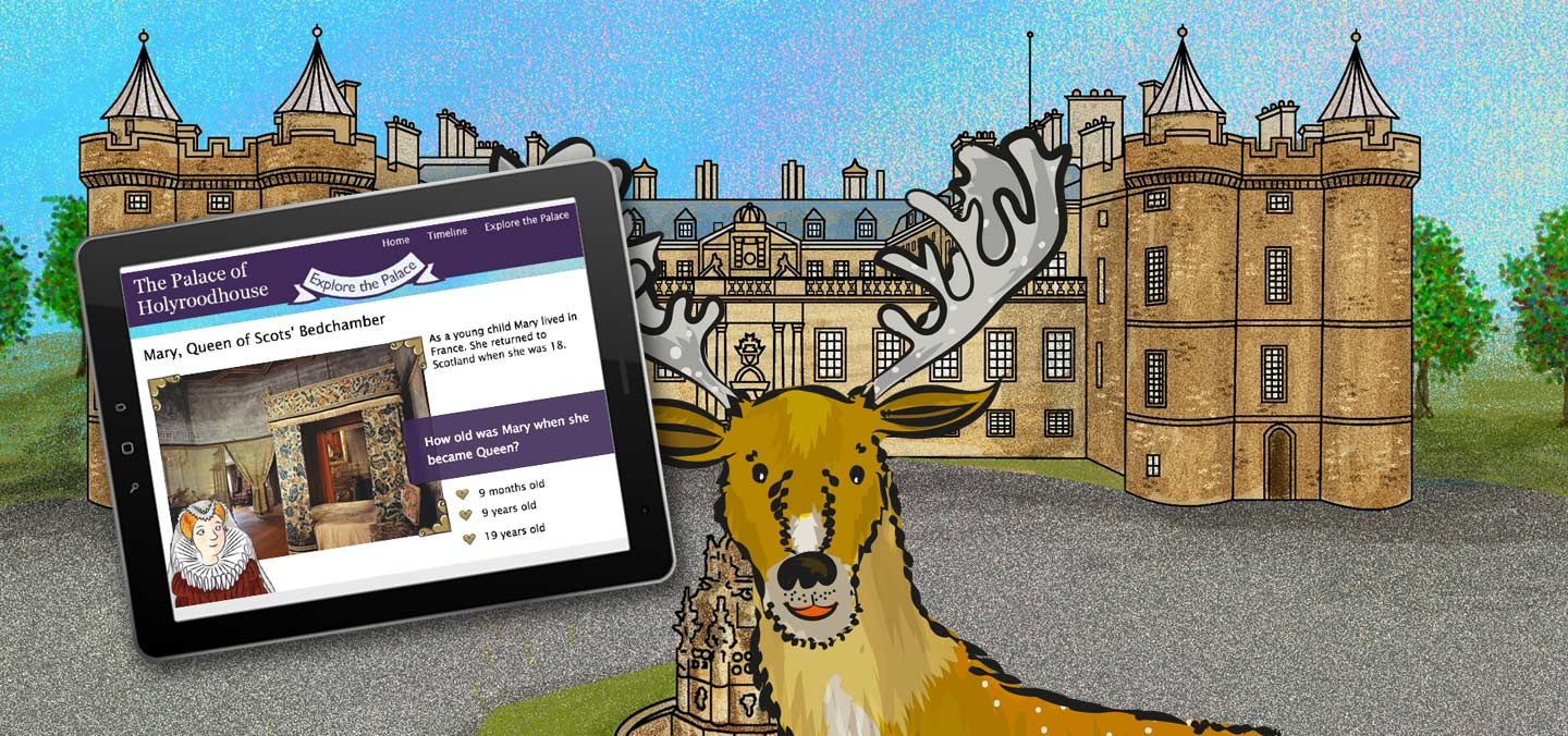 Palace of Holyroodhouse interactive