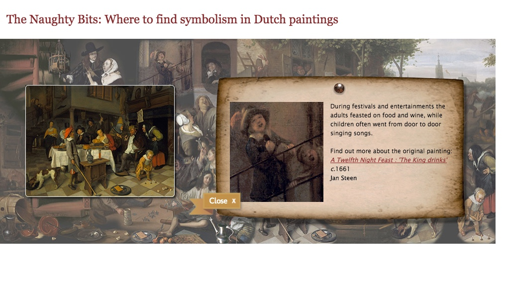 Symbolism Learning Interactive
