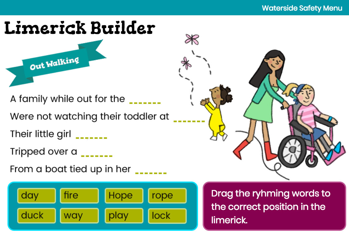 Limerick Builder Activity