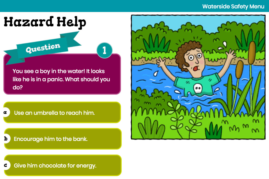 Hazard Help - Interactive Quiz
