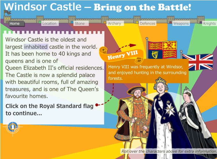Windsor Castle Attack and Defence