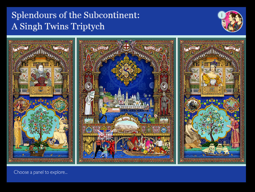 Splendours of the Subcontinent gallery interactive