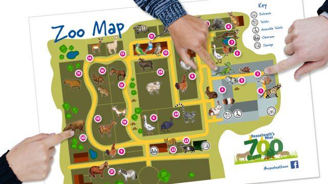 Reaseheath Zoo Map