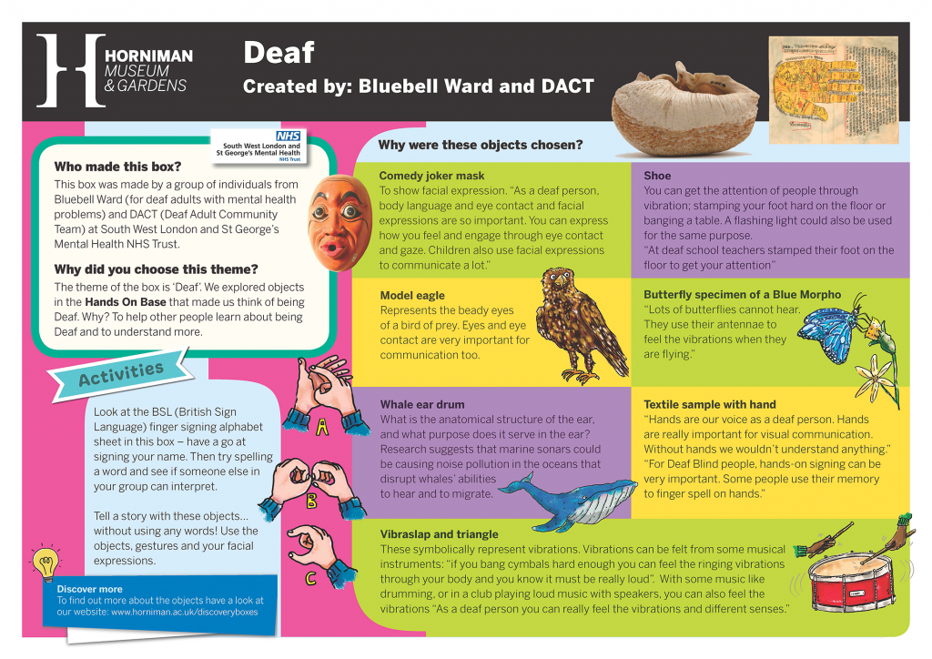 DACT & Bluebell Ward Handling Box Interpretation
