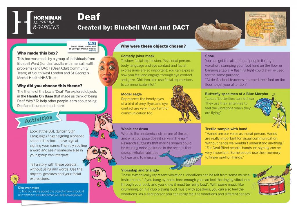 DACT & Bluebell Ward Handling Box Interpretation