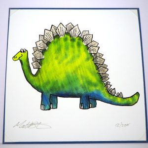 Dinosaur Limited Edition Print Card