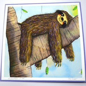 Sloth Card Limited Edition