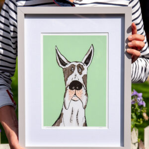 Great Dane Dog Artwork limited edition