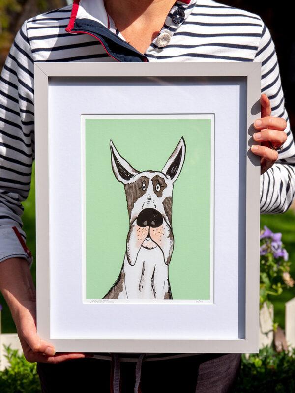Great Dane Dog Artwork limited edition
