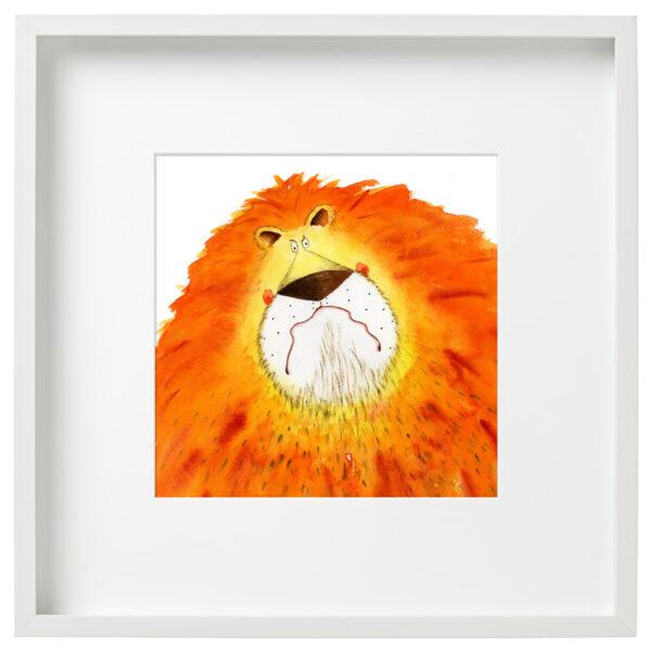 Lion Artwork Children's Illustration - Matt Buckingham