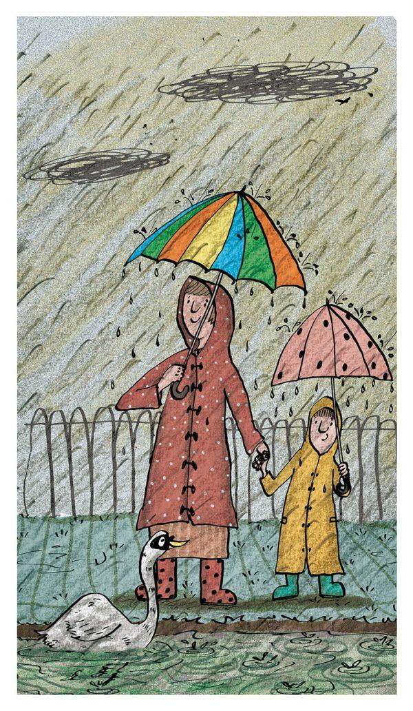 Rain Limited Edition Print