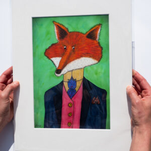 Eclectic Fox Art Print