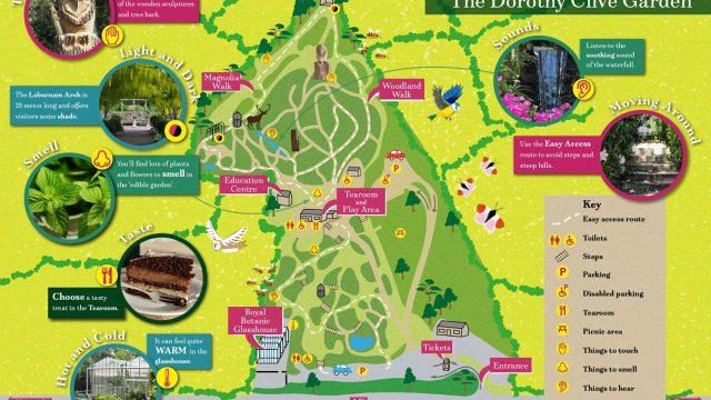 Dorothy Clive Sensory Map