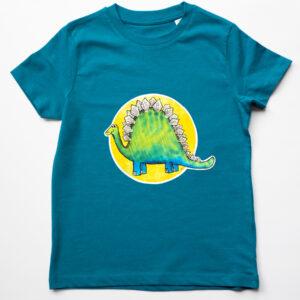 Organic Children's Dinosaur T-shirt