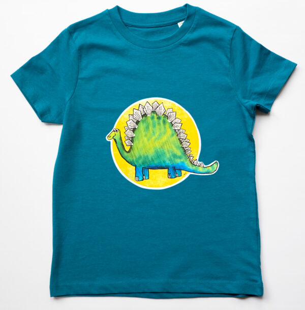 Organic Children's Dinosaur T-shirt