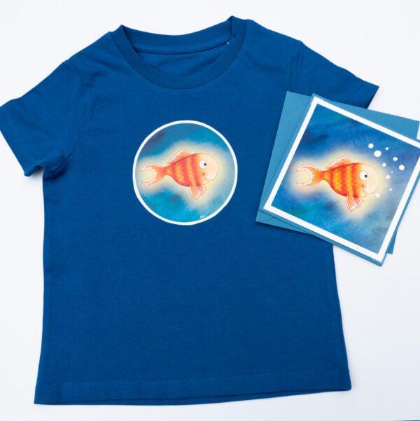 Kids Bright Stanley T-shirt and Card Gift Set