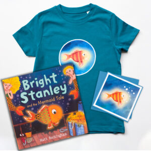 kids fish themed gift set