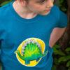Kids organic dinosaur t-shirts