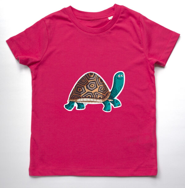 Organic Children's Tortoise T-shirt