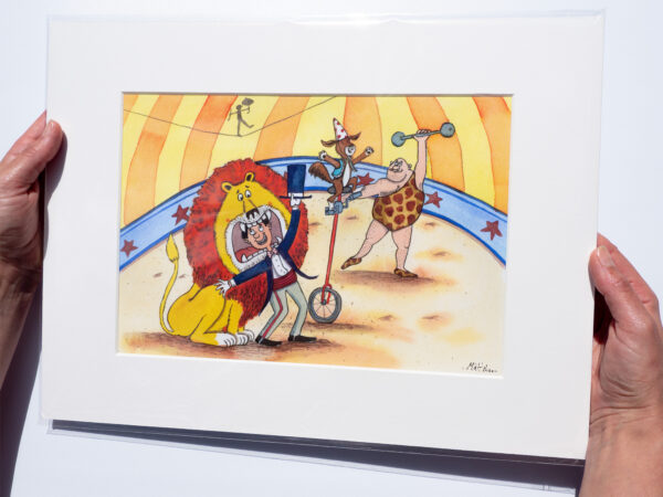 Circus Print for children's rooms