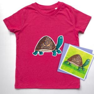 Kids Organic Tortoise T-shirt