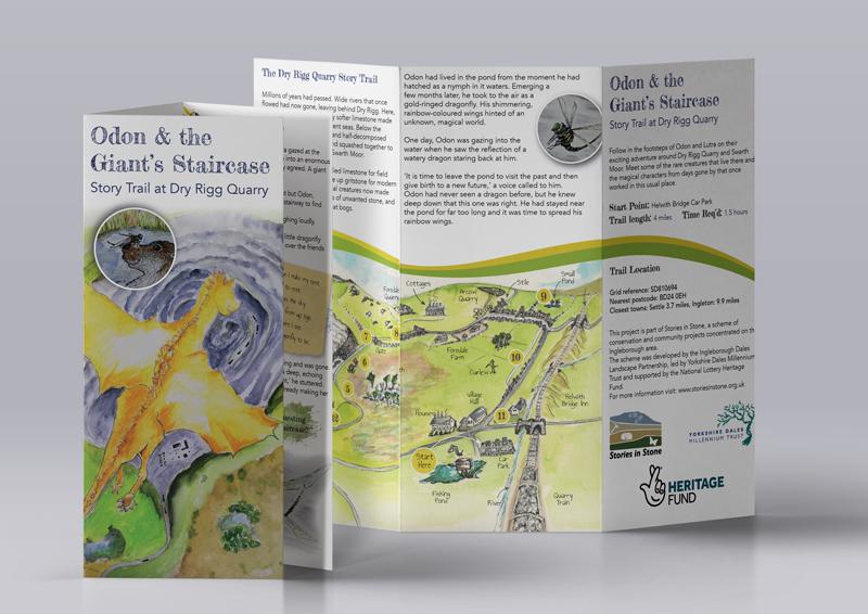 Story Trail Brochure Design