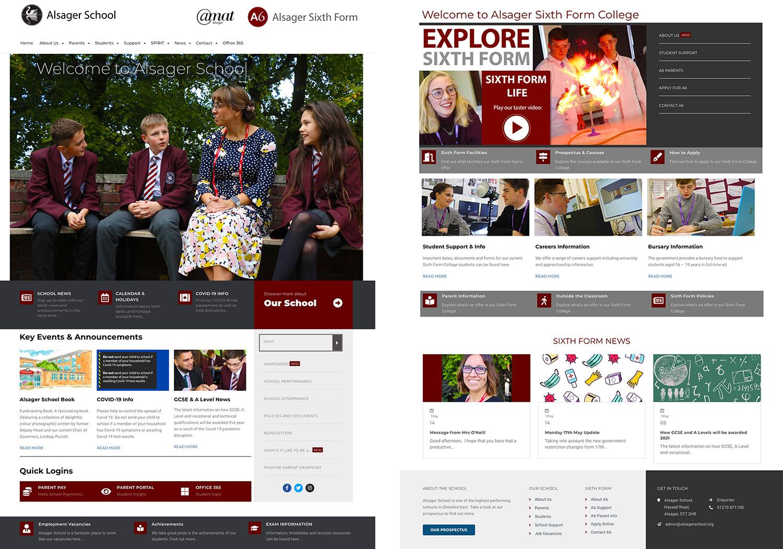 School Website Design Alsager, Cheshire