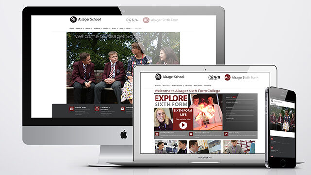 Website Design Alsager School